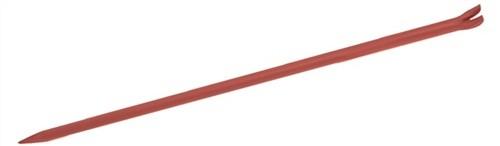 Brechstange gebogen L.1500/B.30mm gepulvert m.Klaue