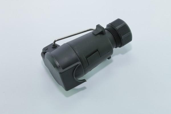 7-polige Kupplungsdose, 12 V, Kunststoff mit Schraubverschluß ...