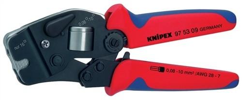 Aderendhülsenzange L.190mm 0,08-16mm2 KNIPEX m.2Komp.-Hüllen