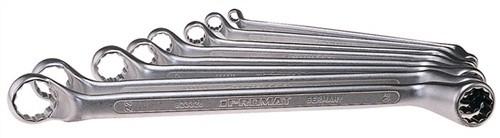 Promat Doppelringschlüsselsatz 8tlg DIN838 SW6x7-22x22mm  ISO3318//1085