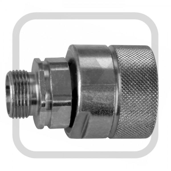 Hydr.-Schraubkuppl., Stecker 10L-M16x1,5